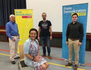 Neu gewählter Vorstand FDP OV MÖM-OBB-Erl